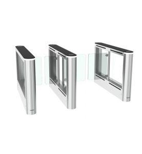 Турникет тип пътека със стъклени врати Cominfo EasyGate 1000