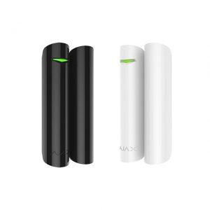 Безжичен магнитен датчик AJAX DoorProtect Plus WH / BL