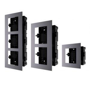 Модулна рамка единична/двойна/тройна HIKVISION DS-KD-ACF/1/2/3