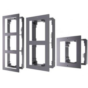 Модулна рамка за повърхностен монтаж единичнадвойнатройна HIKVISION DS-KD-ACW123