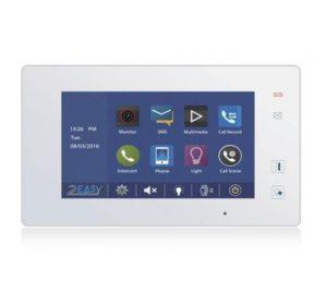 """7"""" LCD висококачествен цветен монитор V-TEC DT47MG(V2)/TD7-B/W"""