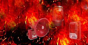 Fire alarm sirens